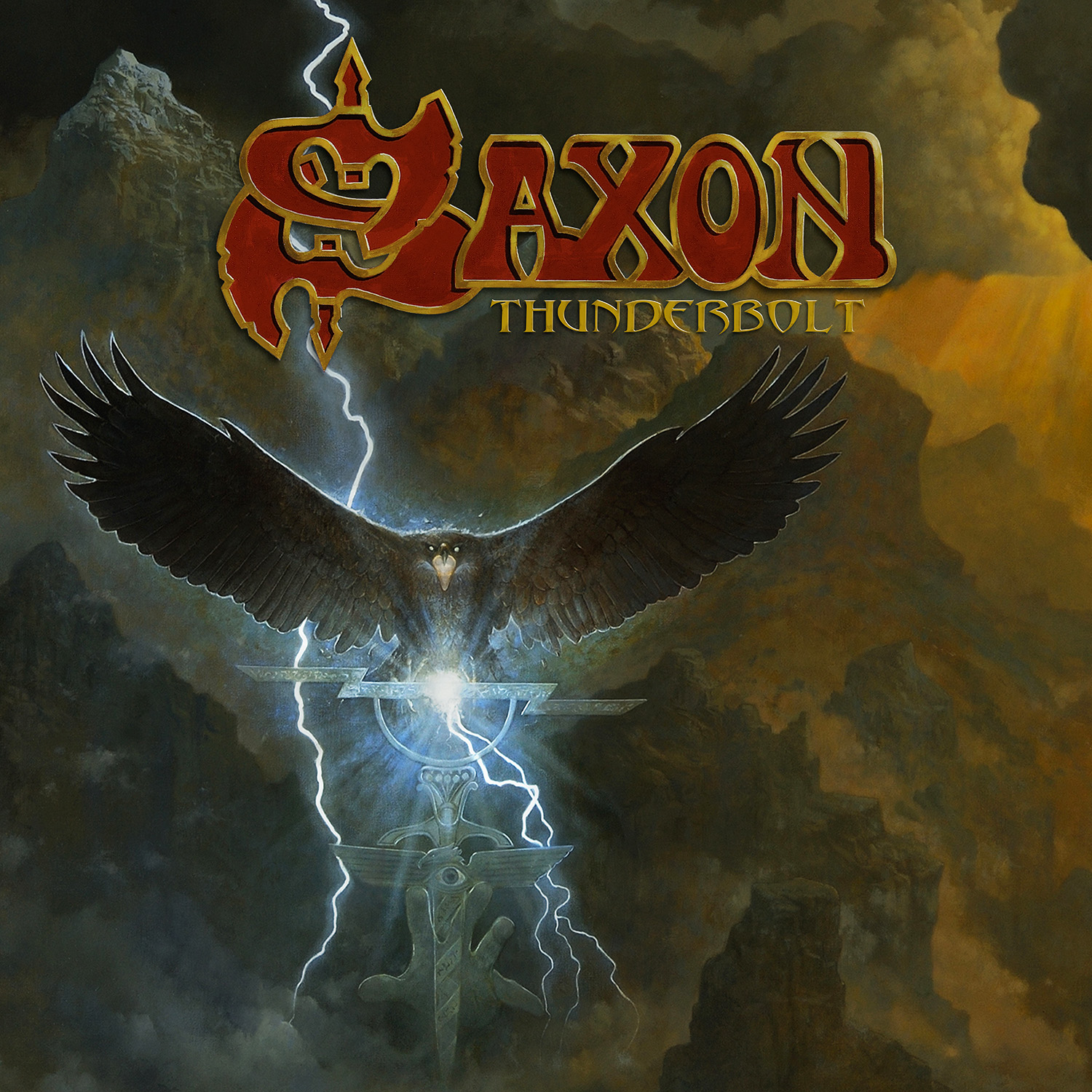 Saxon Announce New Album Thunderbolt Silver Lining Music