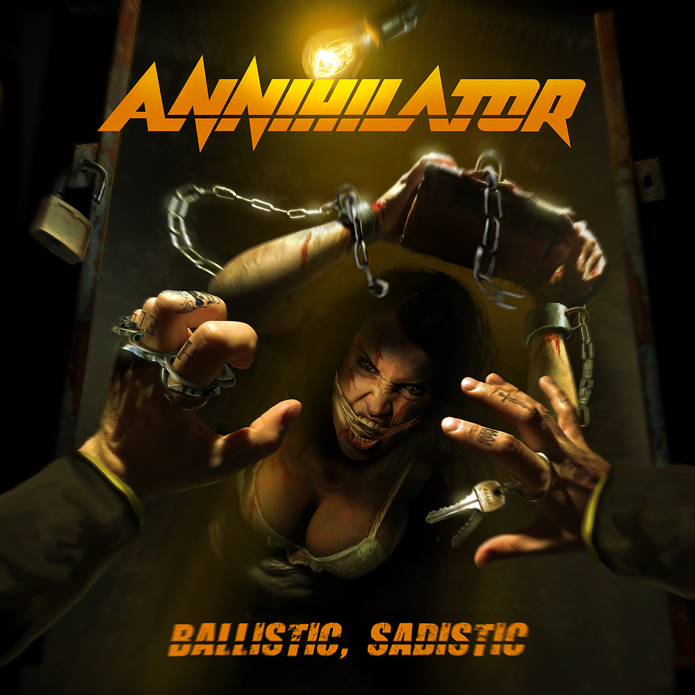 Canadian Heavy Metal/Thrash Legends Annihilator Unleash New Full-Length, Ballistic, Sadistic